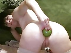 vegetable insertion anal prolapse