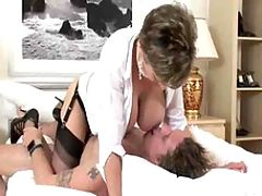 Hot Milf Sex In Stockings