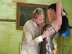 Prostitute Milf in Latex Dress Gets Rode And Cumed All Over by RB