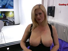 Busty milf goo girls eat hot cum